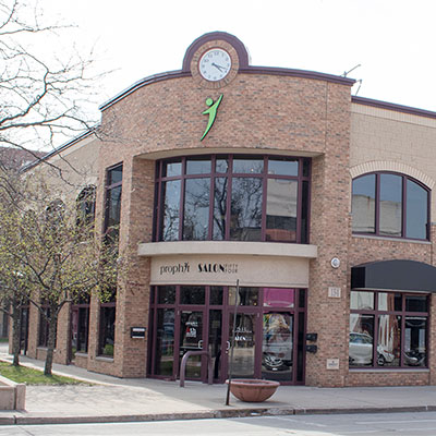 The Prophit building on Green Bay's historic Broadway district