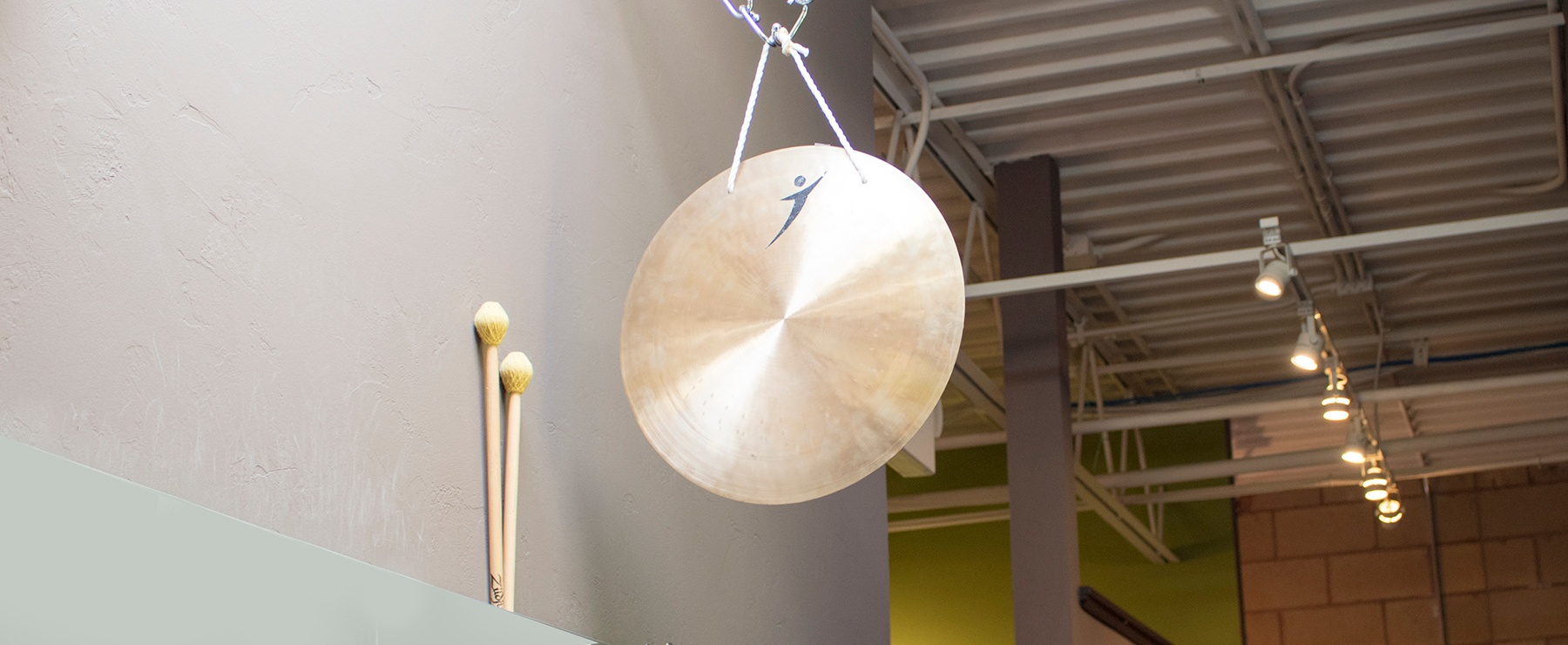 Prophit's gong is used to celebrate our culture and marketing wins