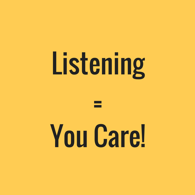 Be Interested, Not Interesting. The Power of Listening in the Workplace.