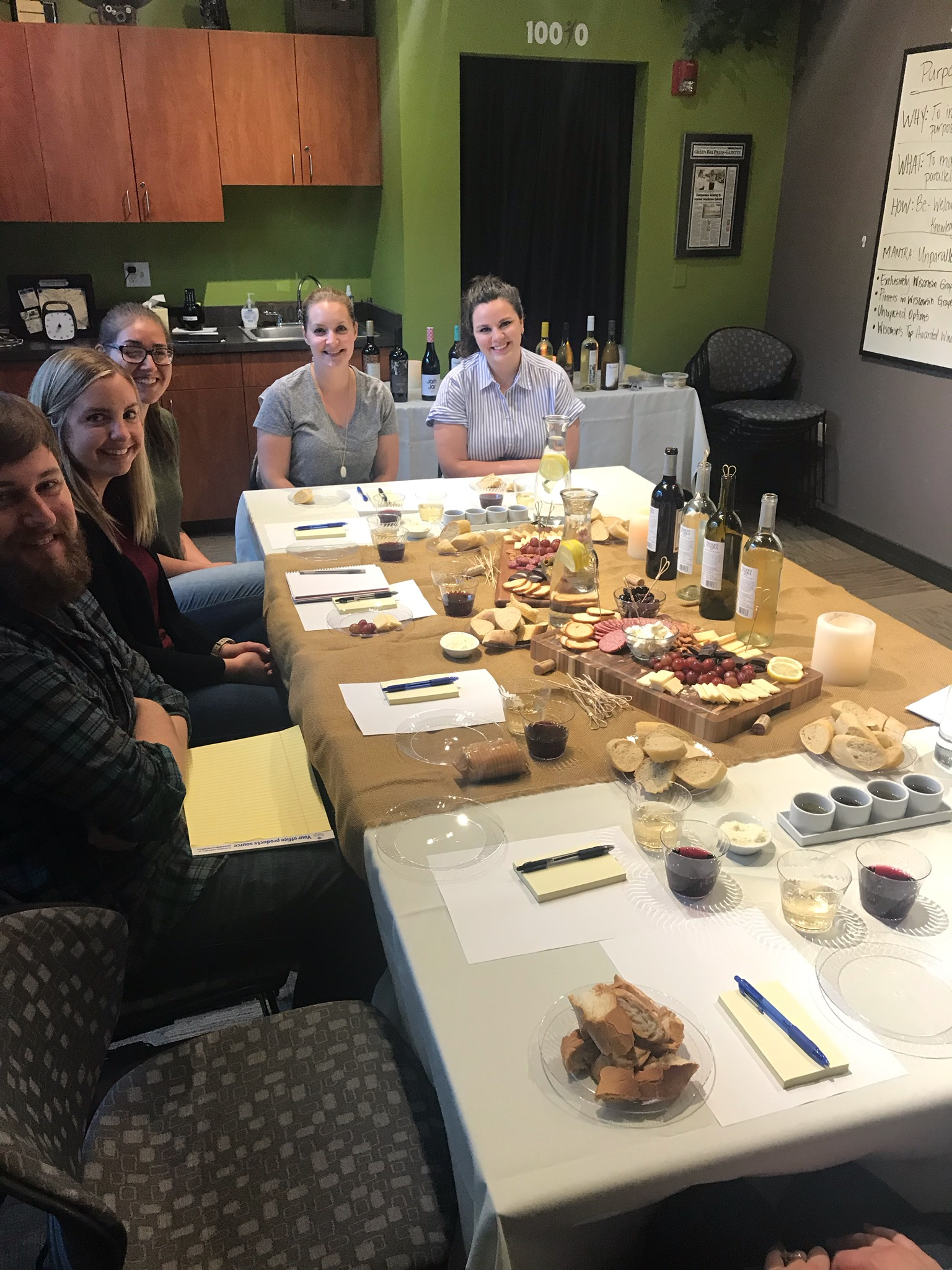 It's a Thanksgiving Feast.. It's a Family Table.. Wait! It's a Brainstorming Session at Prophit!