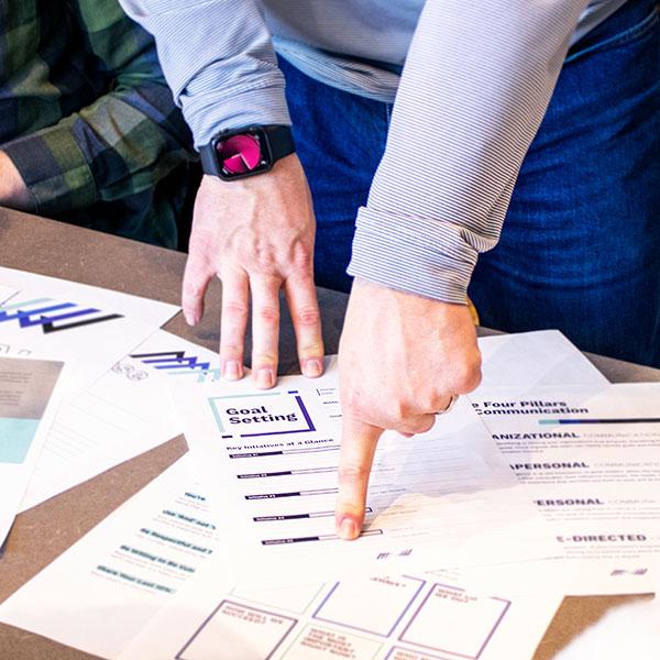 Goal-setting worksheets