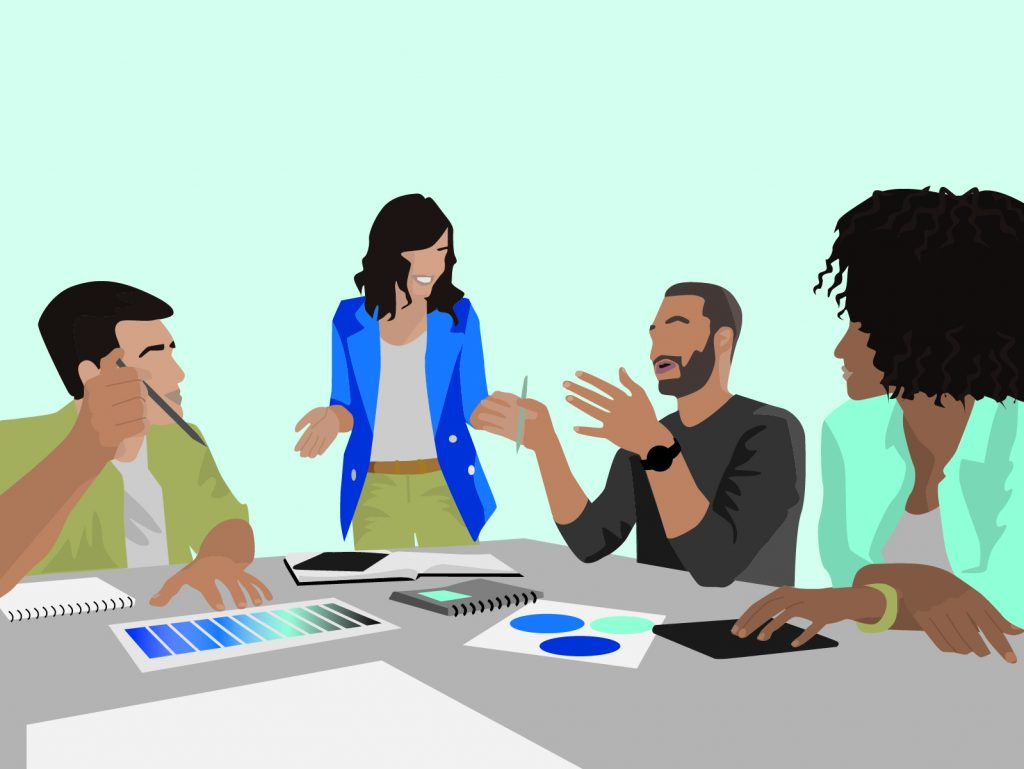 Lively in-person meeting