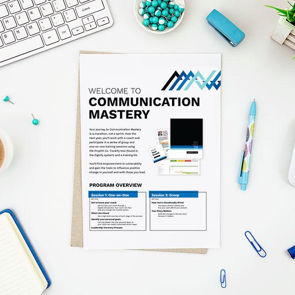 Communication Mastery flyer